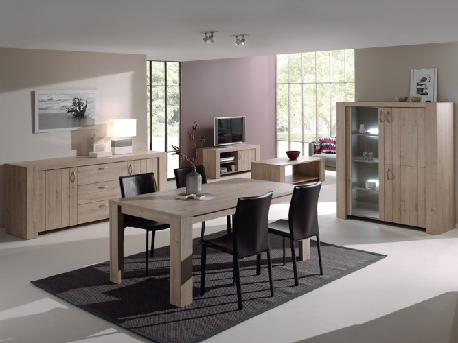 Otto royal eik neyt furniture - Eetkamer deco ...